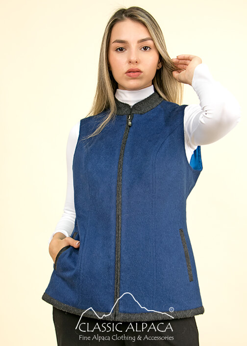Classic Alpaca Ladies Vest | Classic Alpaca Peru