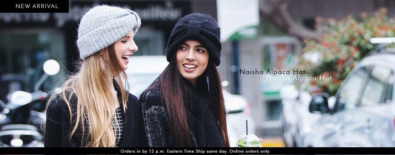 Naisha Alpaca Hat