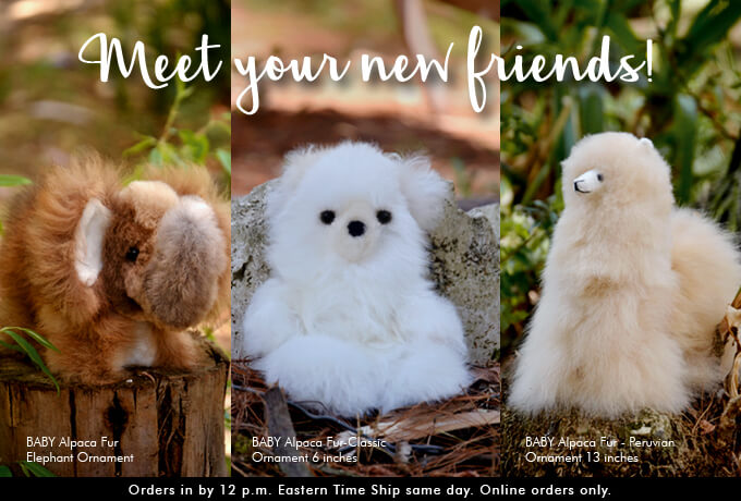 Alpaca Fur Toys for Kids at Wholesa Prices