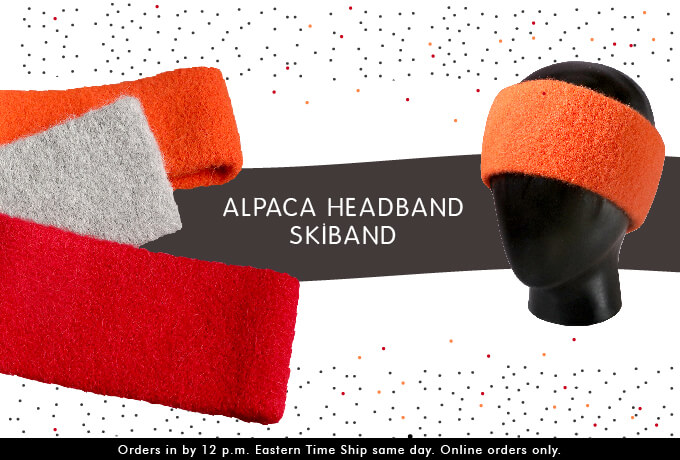 Alpaca Headbands - Skiband