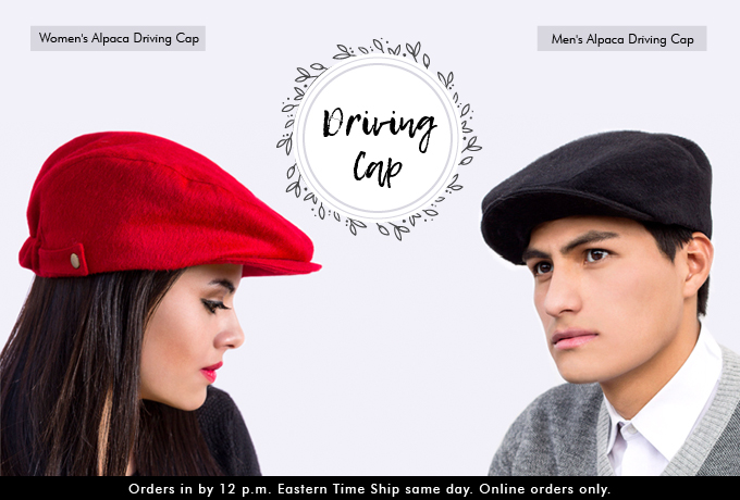 Alpaca Driving Cap Wholesale