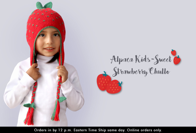 Alpaca Chullo for Kids at Wholesale Price