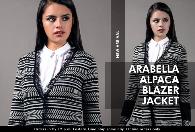 Arabella Alpaca Blazer Jacket