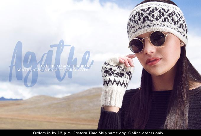 Agathe Alpaca Headband