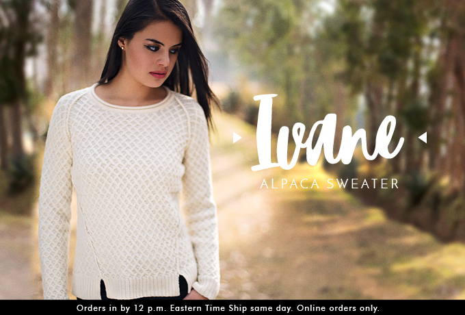 Ivane Alpaca Sweater