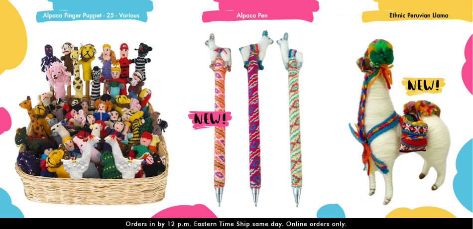 Alpaca Pen for Kids Wholesale