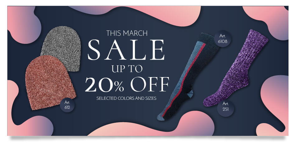 Sale UP TO 20% Off