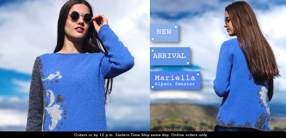 Mariella Alpaca Sweater