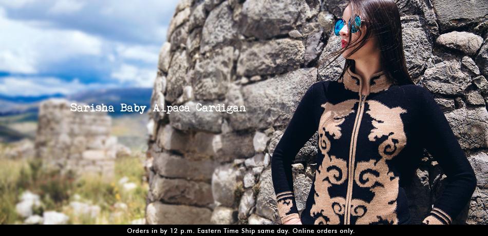 Sarisha Baby Alpaca Cardigan