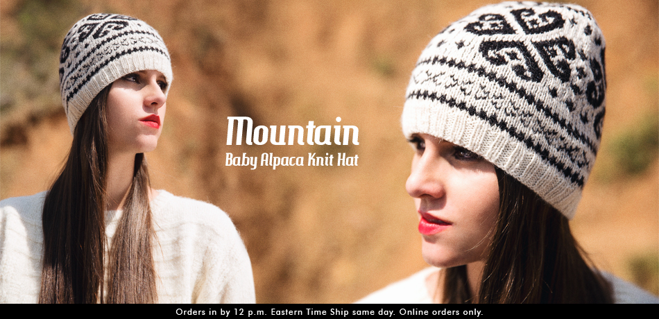 Mountain Baby Alpaca Knit Hat