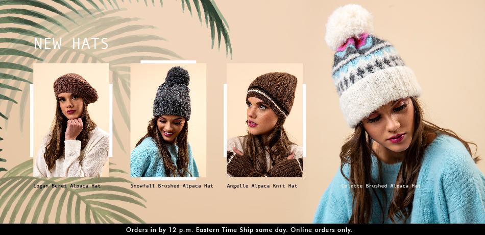 New Alpaca Hats - Classic Alpaca