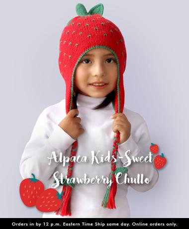 Alpaca Chullo for Kids at Wholesale Price