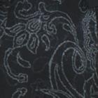 Black-Charcoal-Grey Melange Marcella Alpaca Long Jacket