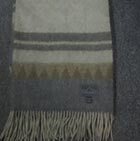 C0311-Sand/Grey/Brown Alpaca Cherokee Blanket