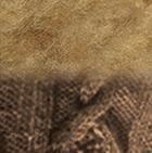 Camel-FurCamel Janice Baby Alpaca Cape with Fur