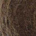 Alpaca Cable Fingerless Gloves in Cinnamon Melange | Classic Alpaca Peru