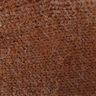 Alpaca Cable Fingerless Gloves in Amber Melange | Classic Alpaca Peru