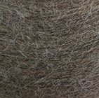 Sand Melange Shadow Cable Alpaca Scarf
