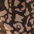 Cinnamon Melange-Beige Animal Print Baby Alpaca Infinity Scarf