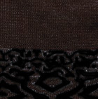 Brown Melange-Black Dakar Baby Alpaca Kimono Cardigan