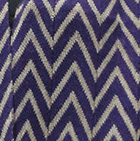 Purple-Sand Melange Chevron Baby Alpaca Infinity Scarf