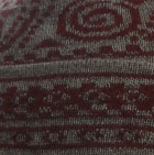 Sand Melange-Red Baby Alpaca Chimu Hat