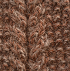 Alpaca Cable Fingerless Gloves in Amber-Sand Mlge | Classic Alpaca Peru
