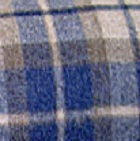 Scottish Blanket in 103-Navy/Camel | Classic Alpaca Peru