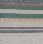 Alpaca Cherokee Blanket in C0305-Sand/Grey/Green | Classic Alpaca Peru