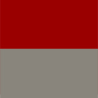 Ladies Reversible Alpaca Toggle Jacket with Fur in Grey-Red