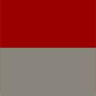 Grey-Red Ladies Reversible Alpaca Cape with Fur