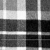 Scottish Blanket in 62-106 Black/Natural | Classic Alpaca Peru