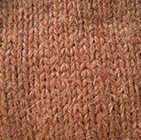 Cinnamon Melange Alpaca Mens Handmade Fingerless Gloves