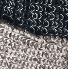 Mixt. Black-Beige-Brown Zahara Alpaca Sweater