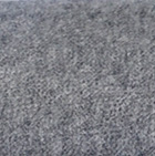 Woven & Brushed Royal Alpaca Throw in Mixt. Grey-Charcoal-Black