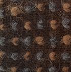 Alpaca Thrummed Mittens in Brown-Multicolor   Classic Alpaca Peru