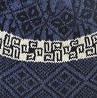 Denim Reversible Nazca Knit Hat