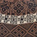 Amber Melange Reversible Nazca Knit Hat