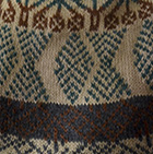 Green Ayaviri Alpaca Chullo - Fleece Lining