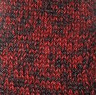 Alpaca Cable Fingerless Gloves in Mixt. Red-Black | Classic Alpaca Peru
