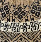 Camel Reversible Nazca Knit Hat