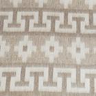 Alpaca Ethnic Inka Blanket in Natural | Classic Alpaca Peru