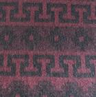 Burgundy Alpaca Ethnic Inka Blanket