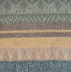 Alpaca Cherokee Blanket in CO432-Camel-Kiwi | Classic Alpaca Peru