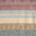 Alpaca Cherokee Blanket in CO532-Camel-Dk. Rose | Classic Alpaca Peru