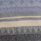 CO652-Charcoal-Powder Blue Alpaca Cherokee Blanket