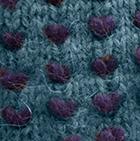 Alpaca Thrummed Mittens in SapphireMlg.-Purple | Classic Alpaca Peru