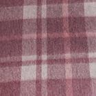 Scottish Blanket in 102-14-Burgundy-Lt. Grey | Classic Alpaca Peru