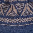 Denim-Taupe Reversible Alaska Alpaca Hat
