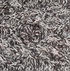 Cable Alpaca Headband in Mixt. Brown Mlge.-Natural | Classic Alpaca Peru